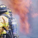 שריפה בדירה בתוך מסתור כביסה בראשון לציון