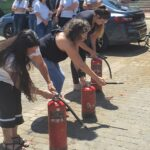 """באש ובמים: עובדי """"מניב ראשון"""" עברו הכשרות בטיחות"""