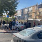 שרפה התפשטה כנראה לתוך דירה בחולון