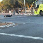 תושב חולון נפצע קשה בתאונת דרכים