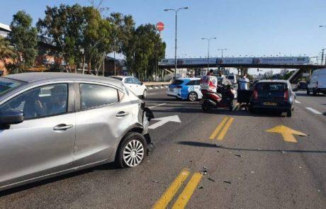 תאונת דרכים בדרך המכבים