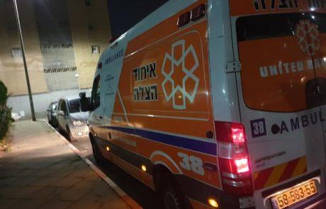 ילד בן 5 נפגע מרכב פרטי