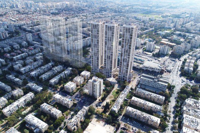 פרויקט הענק של 1,078 דירות יוצא לדרך במרכז