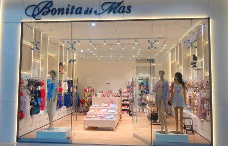 חנות חדשה של רשת הלאנז'רי היוקרתי בוניטה דה