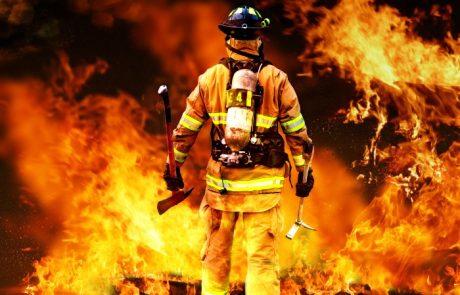 נפגעים בשריפה בחניון תת קרקעי