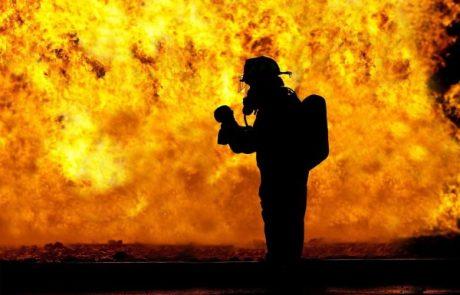שרפה בחוות סוסים בראשון לציון