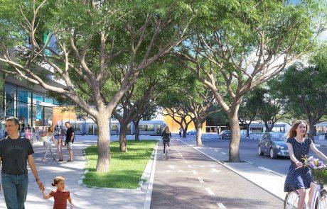 פרויקט פינוי בינוי שישנה הכניסה הראשית של העיר