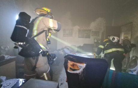 שרפה בדירה בראשון לציון