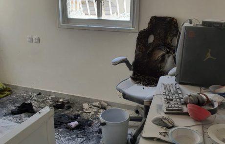 הטענת קורקינט חשמלי בבית גרמה לשריפה