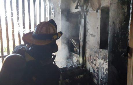 שריפה בדירה ברחוב גיפשטיין בראשון לציון
