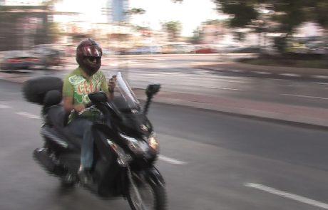 עליה של 70% ברוכבי האופנוע הצעירים שנהרגו
