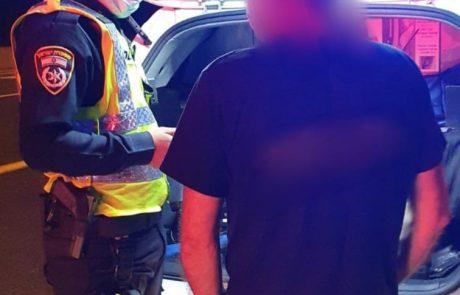 דיווח על רכב משתולל סייע בעצירת נהג בהשפעת