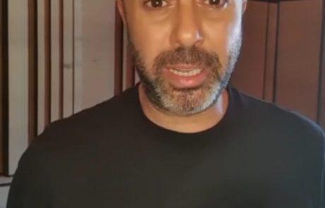 צפו בסרטון: ליאור נרקיס בבידוד מחשש שנדבק בקורונה