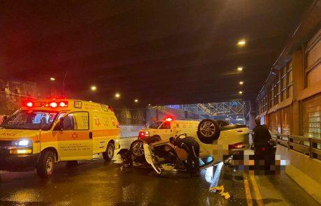לילה קטלני בכבישים עם שלושה הרוגים