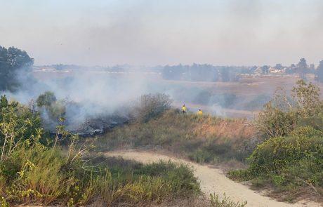 שרפת קוצים סמוך לנחלת יהודה