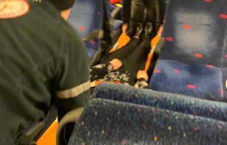 צפו בסרטון:עירנותו של פקח הרכבת הצילה את חיי