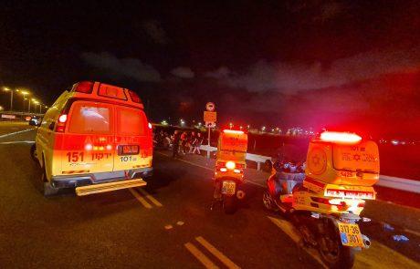רוכב אופניים נפגע קשה בצומת חולון