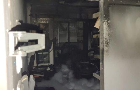 שריפה בדירה ברח כצנלסון בבת-ים