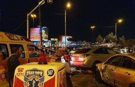 ארבעה נפגעים קל בתאונת דרכים