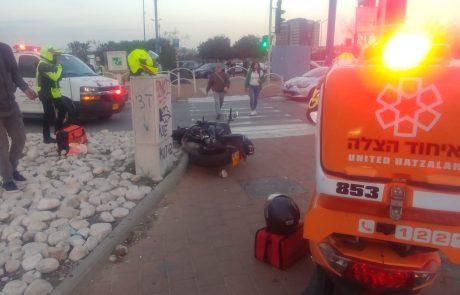 חמישה פצועים בתאונה בראשון לציון