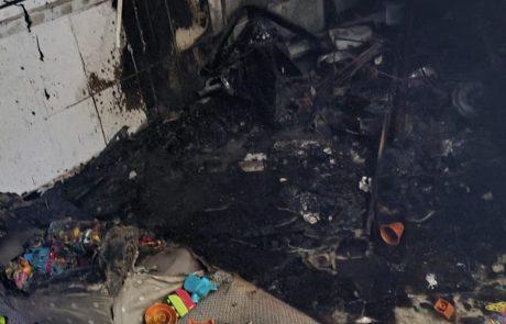 שרפה בדירה