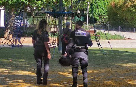 פעילות אכיפה ממוקדת בגינות ובפארקים הציבוריים