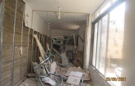 עיריית חולון הרסה בנייה חורגת לפיצול נכס למגורים