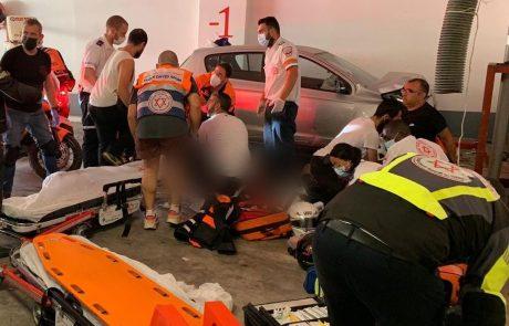 בת 80 נהרגה כתוצאה מהתנגשות רכב בקיר בתוך