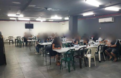 נחשף מועדון הימורים בלתי חוקי
