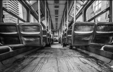הקורונה-איסור לשבת ליד נהגי אוטובוס