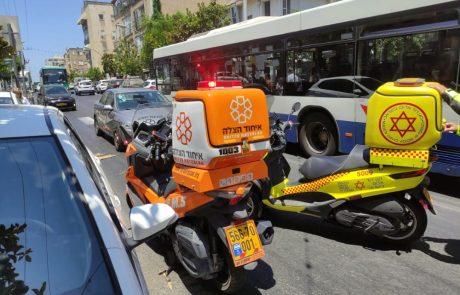 בן 70 נפגע מרכב בראשון לציון
