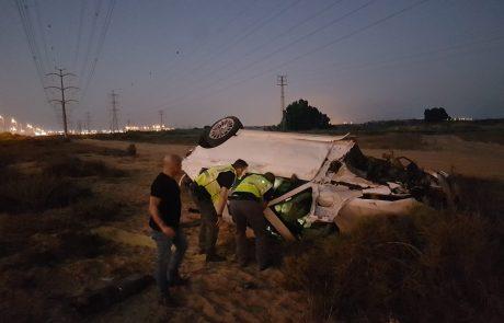 תאונה קטלנית על כביש 4