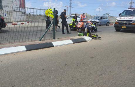 פצוע בינוני בתאונה בראשון לציון