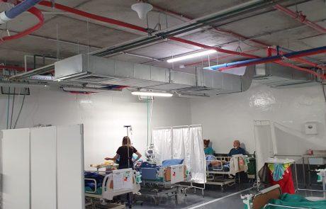 מצב המאושפזים בבתי החולים