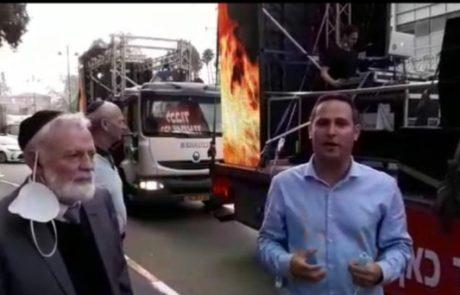 צפו בסרטון:משאיות השמחה יצאו לדרך