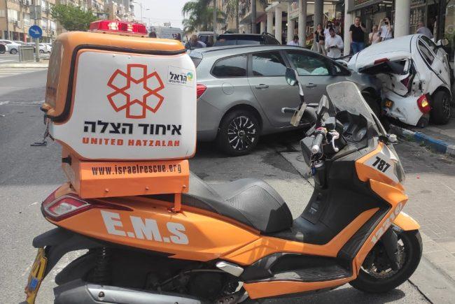 ארבעה פצועים כתוצאה מתאונת דרכים