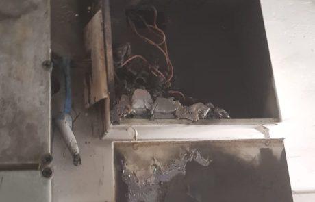 שרפה במבנה בשנקר חולון