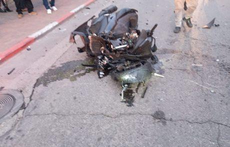 תאונה קשה ברחוב סוקולוב